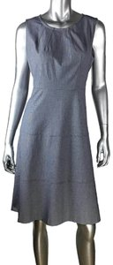 Jones New York Sleeveless Herringbone Dress