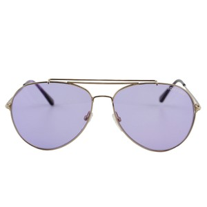 8f840c09efd0 Tom Ford New Tf Indiana Ft0497 28y Women Rose Gold Aviator Sunglasses