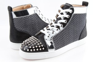 66f74318c4eb Christian Louboutin Multicolor Lou Spikes Orlato Men s Flat Sneakers Shoes