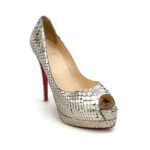 0b6efd35b0fa Women s Silver Christian Louboutin Shoes - Up to 90% off at Tradesy ...