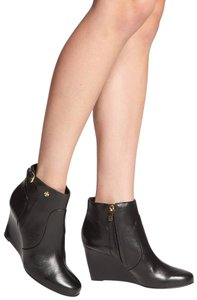 Tory Burch Blogger Black Wedge Boots