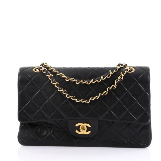 b99985a4a5ef Chanel Classic Flap Vintage Classic Double Quilted Medium Black ...