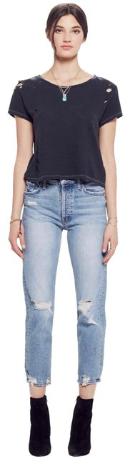 Item - Blue Distressed Superior Vintage Style Relaxed Fit Jeans Size 26 (2, XS)