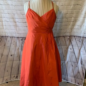 J.Crew Apricot Formal Bridesmaid/Mob Dress Size 10 (M)