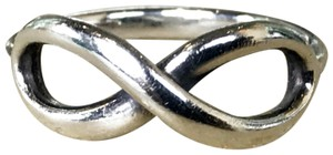 Tiffany & Co. TIFFANY & CO. Infinity 925 Sterling Silver Band Ring Women's SZ 6.5