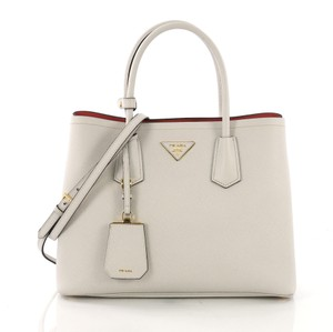 081b464516e7 White Leather Prada Bags - 70% - 90% off at Tradesy