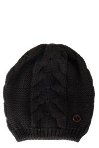 Gucci GUCCI Black Knit Beanie
