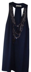 Andrea Behar short dress navy blue on Tradesy