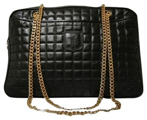 8c71ea643996 Céline Vintage Quilted Lambskin Chain Cross Body Bag