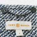 Tory Burch Navy and White #32131561 Rosemary Blazer Size 4 (S) Tory Burch Navy and White #32131561 Rosemary Blazer Size 4 (S) Image 6