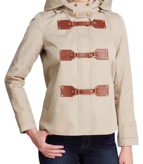 Item - Khaki Duffle Cropped Women Jacket Size 8 (M)