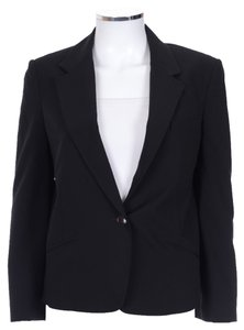 Alexander Wang Black Long Sleeve Tuxedo Jacket Coat Blazer