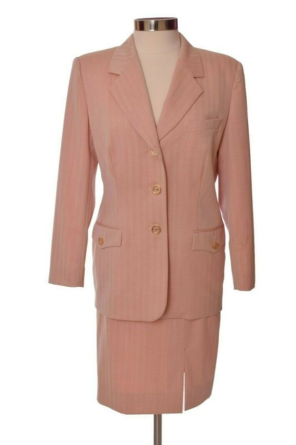 Item - Pink Long Sleeve Us Skirt Suit Size 10 (M)