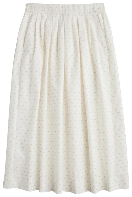 Item - White with Pink Dots. Style Number J1874 Skirt Size 16 (XL, Plus 0x)