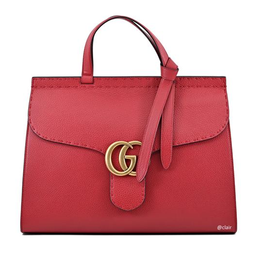 Preload https://img-static.tradesy.com/item/25068858/gucci-marmont-large-top-handle-vulcanic-red-leather-satchel-0-1-540-540.jpg
