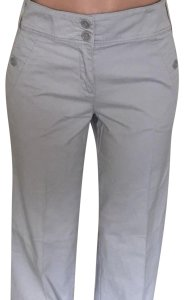 New York & Company Khaki/Chino Pants Gray