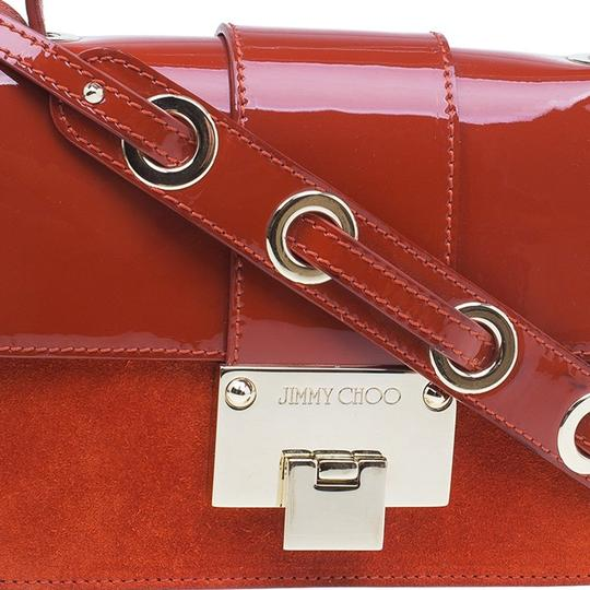 Jimmy Choo Leather Suede Cross Body Bag Image 5