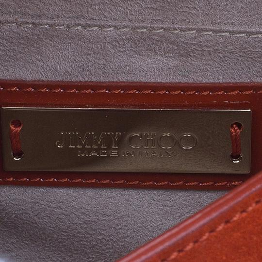 Jimmy Choo Leather Suede Cross Body Bag Image 9