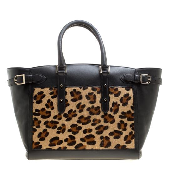 Aspinal of London Leather Tote in Black Image 1