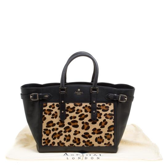 Aspinal of London Leather Tote in Black Image 10