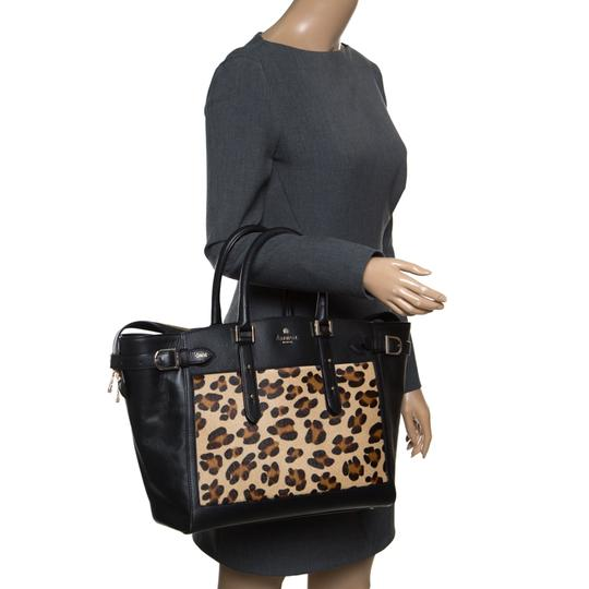 Aspinal of London Leather Tote in Black Image 2