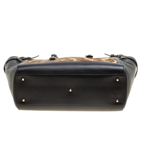 Aspinal of London Leather Tote in Black Image 4