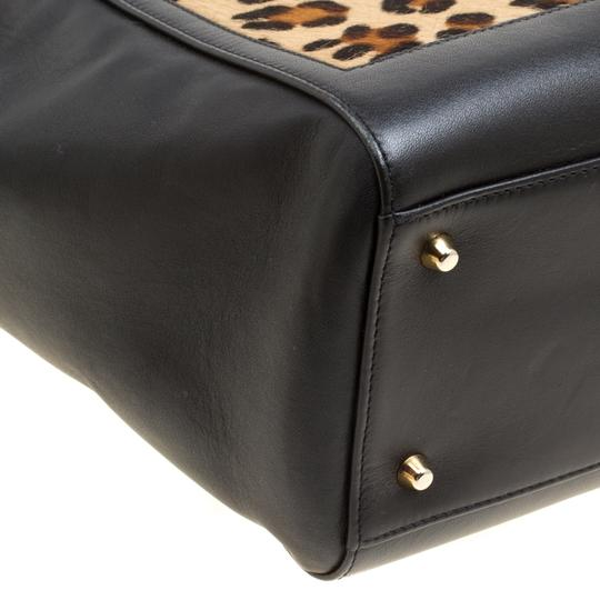 Aspinal of London Leather Tote in Black Image 5