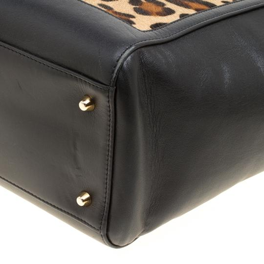 Aspinal of London Leather Tote in Black Image 6