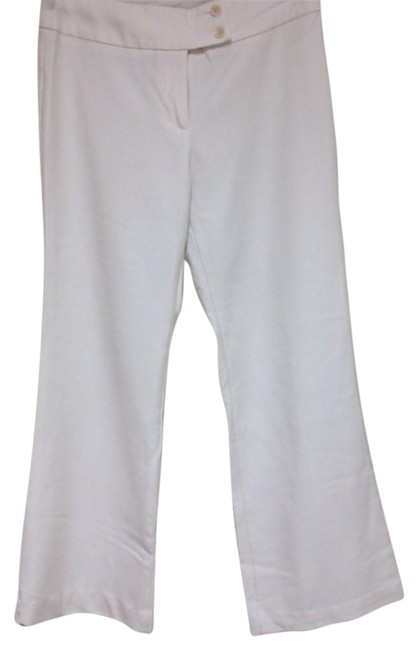 Item - White Stretch Pants Size 8 (M, 29, 30)