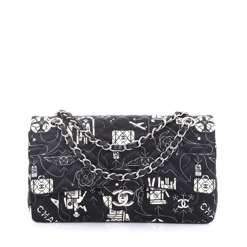 4f9d5b5c5e37 Chanel Classic Flap Airlines Classic Double Quilted Printed Medium ...