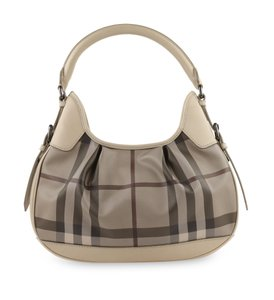 Burberry Canvas Hobo Bag