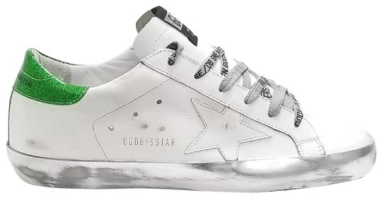 Preload https://img-static.tradesy.com/item/25070082/golden-goose-deluxe-brand-white-sparkle-green-ggdb-lace-superstar-sneakers-size-eu-38-approx-us-8-re-0-1-540-540.jpg