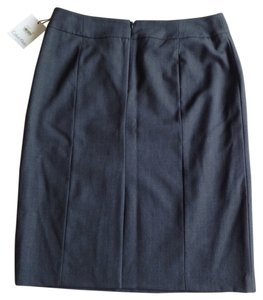 Calvin Klein Skirt Charcoal Gray