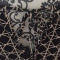Banana Republic Top black and cream colored pattern Image 1