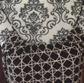 Banana Republic Top black and cream colored pattern Image 4