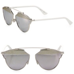 2b232349337b5 White Dior Sunglasses - Up to 70% off at Tradesy (Page 2)