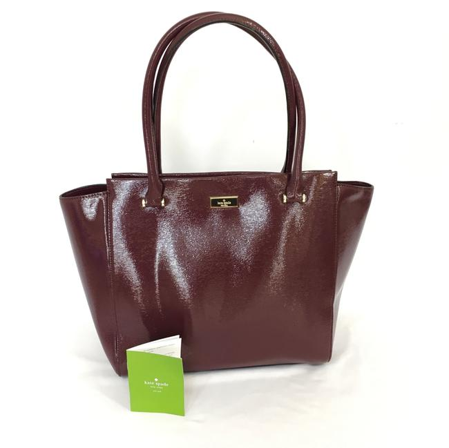 Item - Bixby Place Wkru4058 Mulled Wine Faux Leather Tote