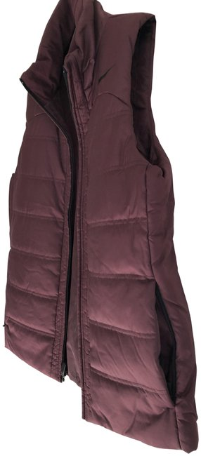 Item - Bordeaux Color Vest Activewear Outerwear Size 8 (M)