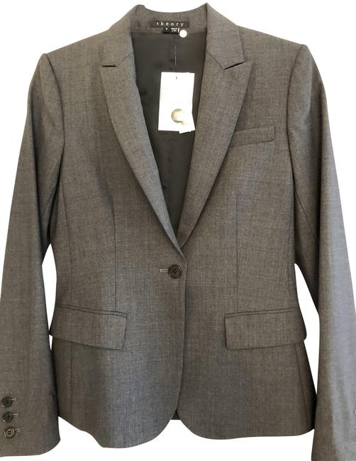 Item - Charcoal/Dark Gray Gabe B Jacket Blazer Size 4 (S)