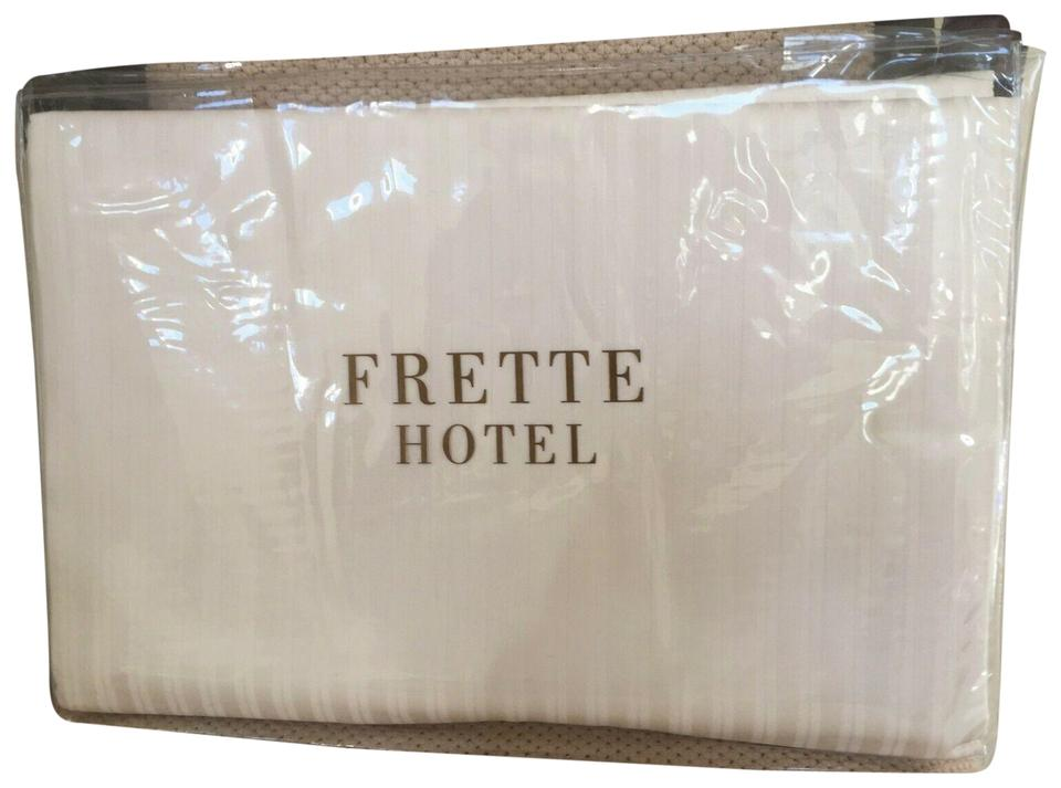 3f41123673398 Frette FRETTE QUEEN DUVET COVER ITALY Hotel Collection Atlantic IVORY Image  0 ...
