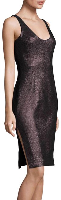 Item - Pink Stretch Lurex Cora Sheath In Lipi Mid-length Night Out Dress Size 4 (S)