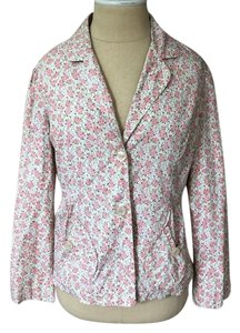 Anthropologie pink multi Blazer