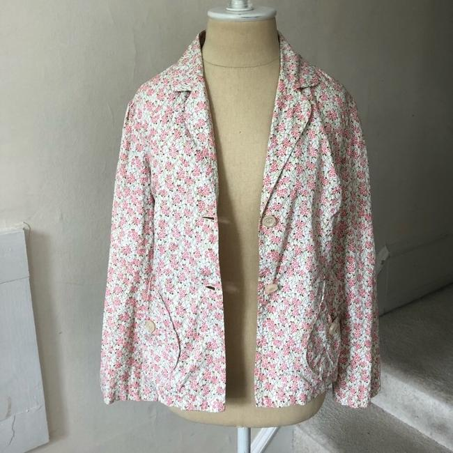 Anthropologie pink multi Blazer Image 1