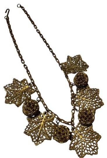 Preload https://img-static.tradesy.com/item/25072725/gold-celluloid-resin-chain-link-necklace-0-1-540-540.jpg