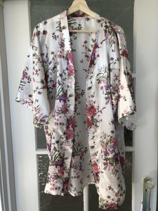 White and Pink Silk Robes (5)
