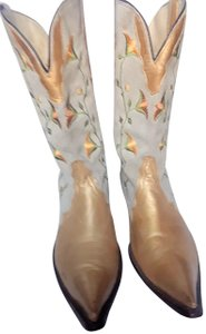Rudel Gold and beige Boots
