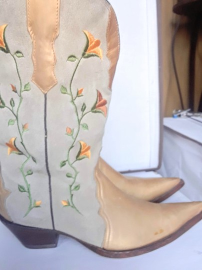 Rudel Gold and beige Boots Image 1