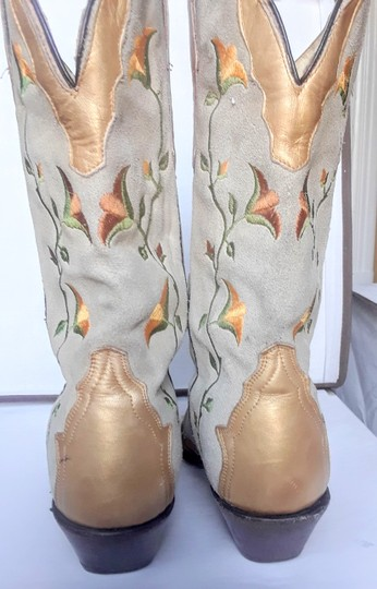 Rudel Gold and beige Boots Image 2