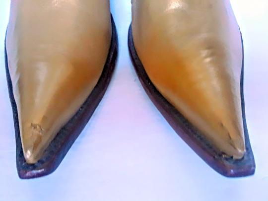 Rudel Gold and beige Boots Image 6