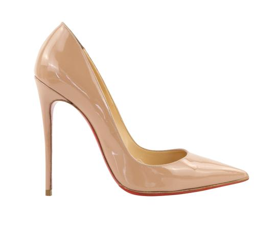 Preload https://img-static.tradesy.com/item/25073047/christian-louboutin-beige-so-kate-patent-leather-pumps-size-eu-395-approx-us-95-regular-m-b-0-2-540-540.jpg